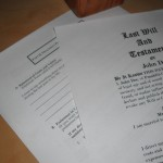 The Will as an Implied Unilateral Arbitration Contract